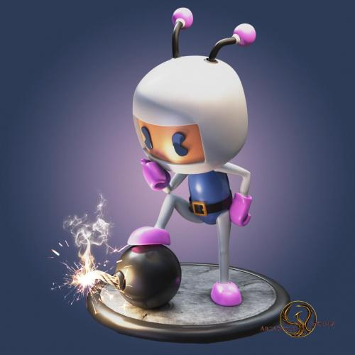 Bomberman by Arcadeous