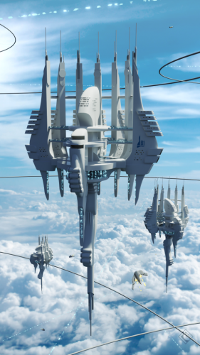 Skyward Living 1st place City of the Future Purbosky